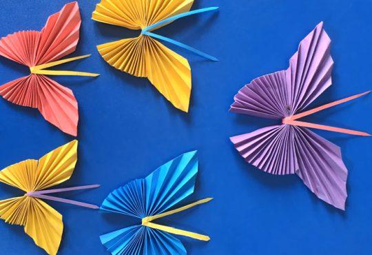 فیلم آموزش پروانه های کاغذی