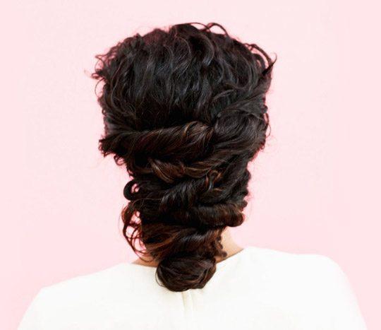 آموزش روش ساده برای شینیون مو