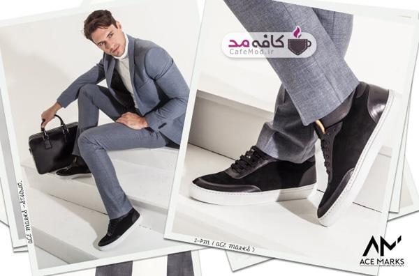 پوشیدن کفش کتانی با کت و شلوار