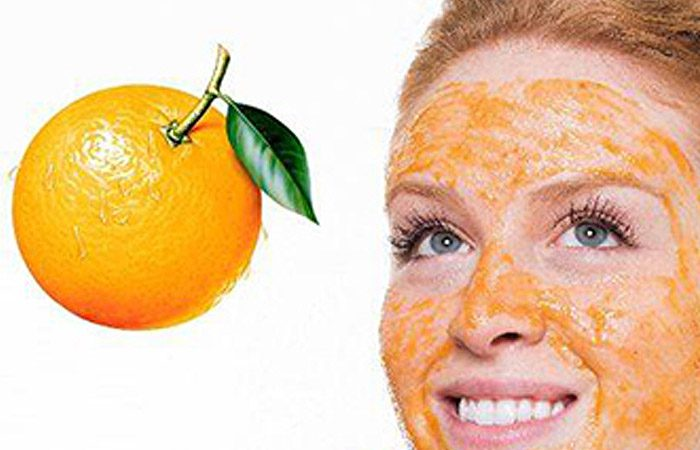 ماسک ضد آکنه با پوست پرتقال