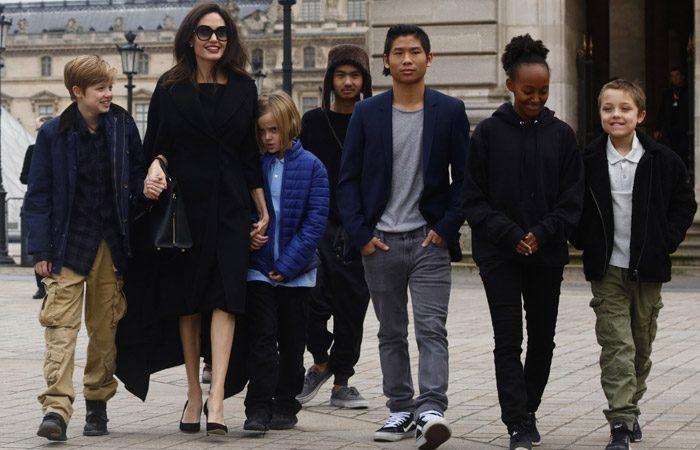 سبک جالب آنجلینا جولی در تربیت فرزندانش