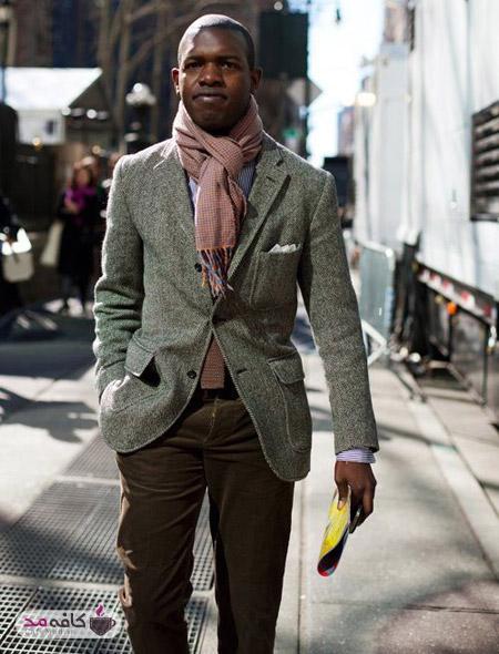 مدل های بستن شال گردن برای آقایان