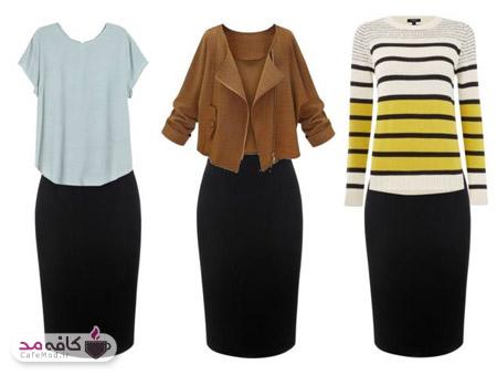 ترفندهای لاغر شدن با پوشیدن لباس