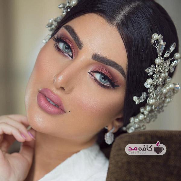 مدل آرایش های عروس و مجلسی