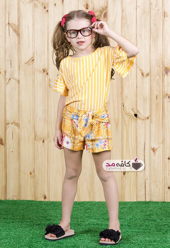 مدل لباس شاد و رنگی دخترانه