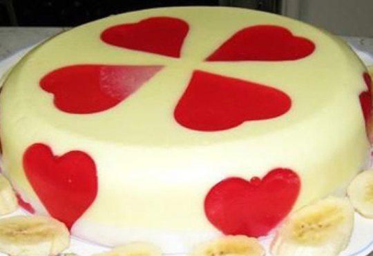 طرز تهیه ی ژله قلبی ویژه ولنتاین