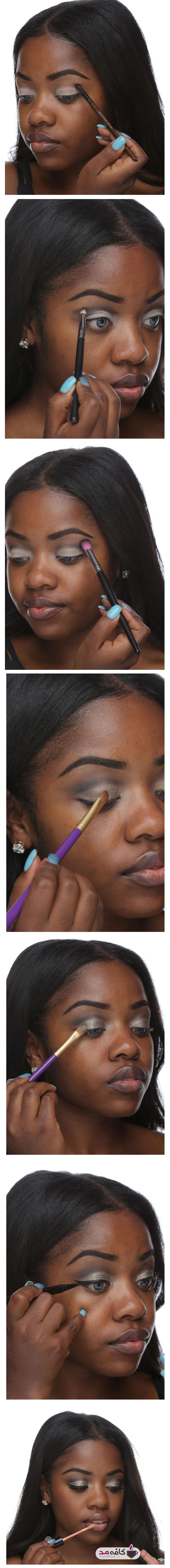 آموزش آرایش چشم برای افراد با پوست تیره