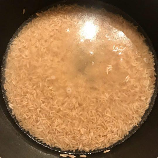 نحوه پخت برنج قهوه ای