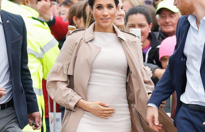 لباس بارداری «مگان مارکل» عروس خاندان سلطنتی