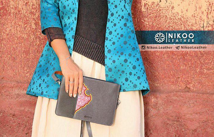 مدل کیف چرم زنانه ایرانی
