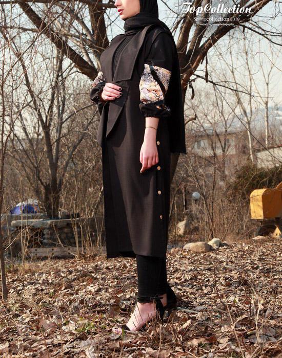 مدل های جدید مانتو بهاره ایرانی