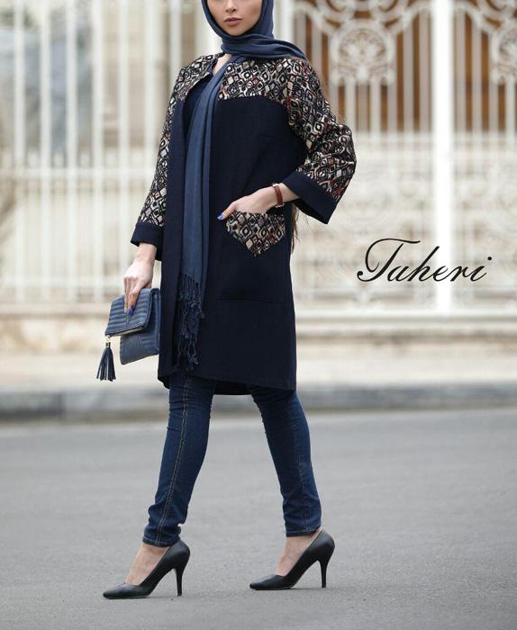 مدل مانتو بهاره ایرانی