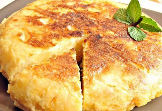 نان پنیر و سیب زمینی