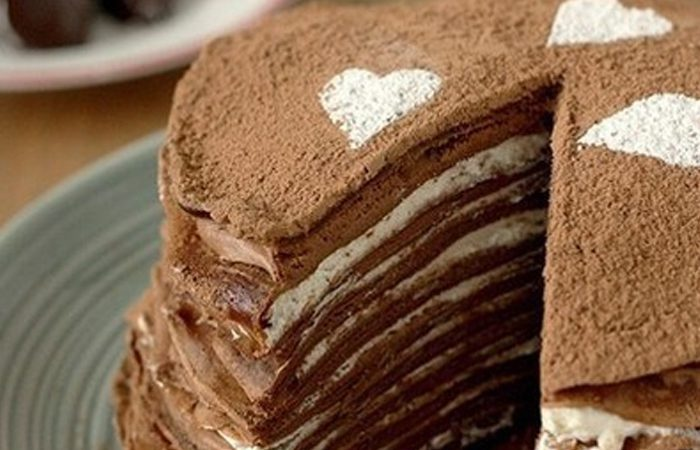 طرز پخت کیک پنکیک شکلاتی