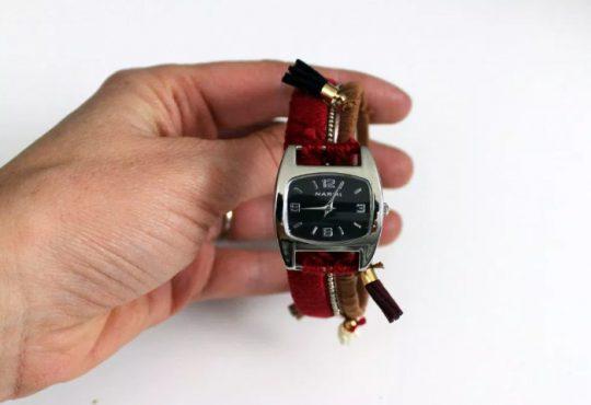 آموزش تغییر بند ساعت به روش Boho