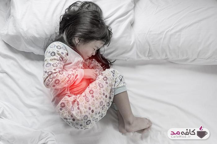 علائم زخم معده در کودکان