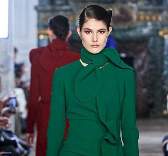 طراح لبنانی با مد دهه ۷۰ در پاریس درخشید