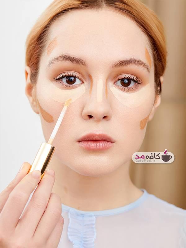 روش کانتورینگ صورت با استفاده از کانسیلر