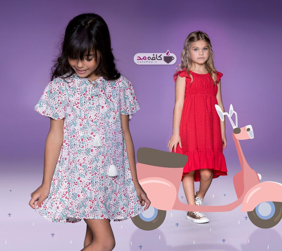 مدل لباس بچگانه بهاره