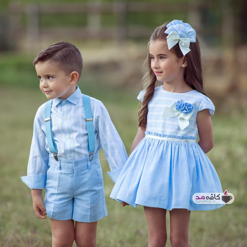 مدل لباس های بهاره کودکانه