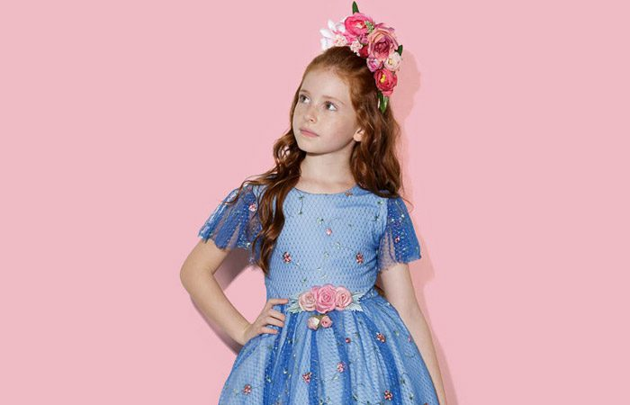 مدل لباس دخترانه برند