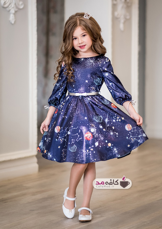 جدیدترین مدل های لباس مجلسی دخترانه