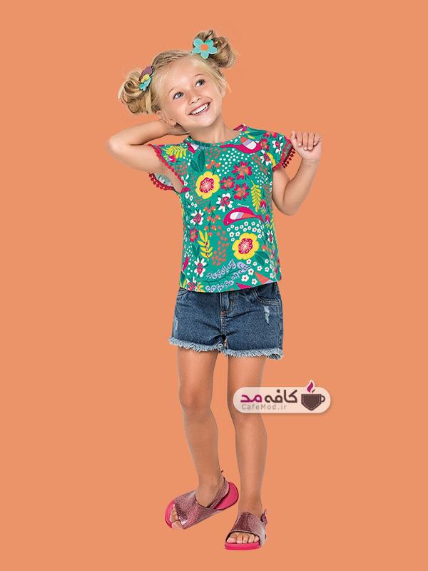 مدل لباس بهاره بچگانه