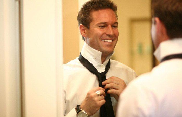 ست کردن کراوات با پیراهن مردانه