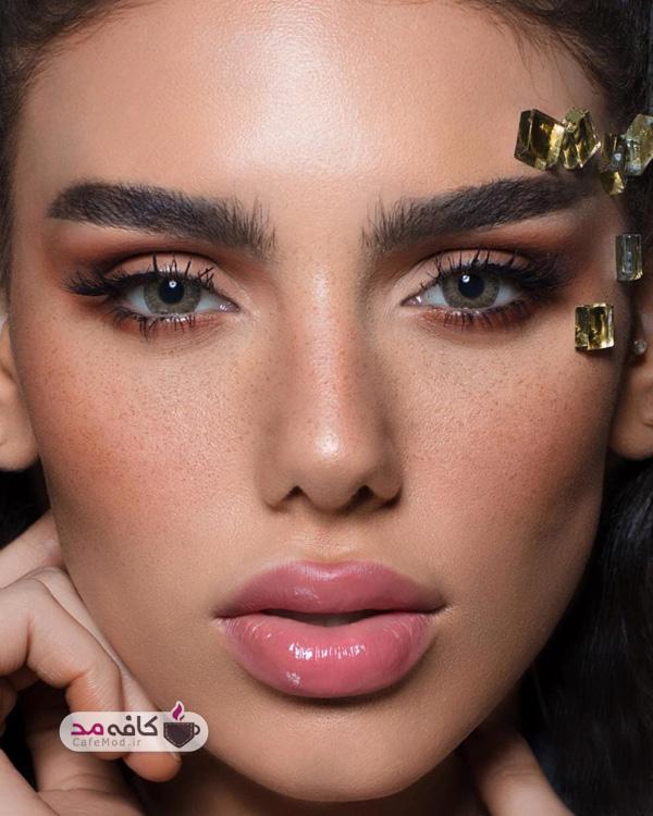 مدل آرایش با تکنیک های جدید