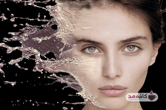 تأثیر نوشیدن آب بر زیبایی پوست صورت