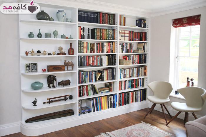 ایده هایی برای کتابخانه خانگی