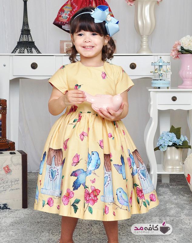 مدل لباس عروسکی دخترانه