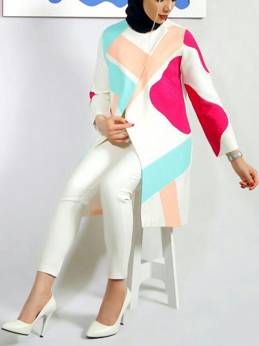 مدل مانتوهای شاد
