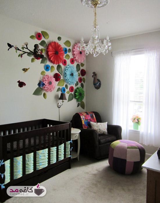 دکوراسیون اتاق خواب کودک دخترانه