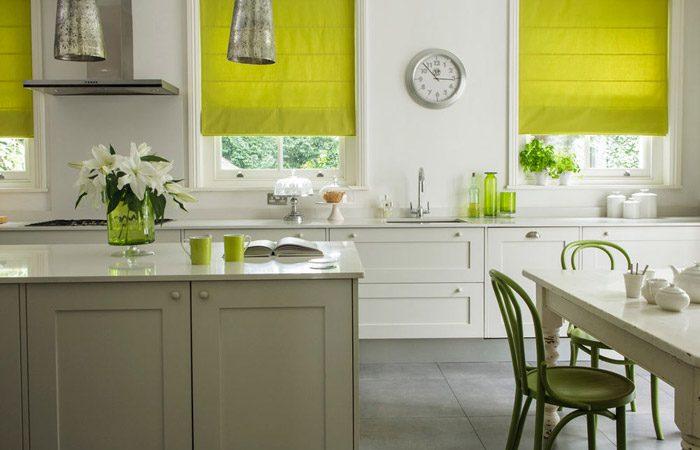 رنگ مناسب آشپزخانه کوچک