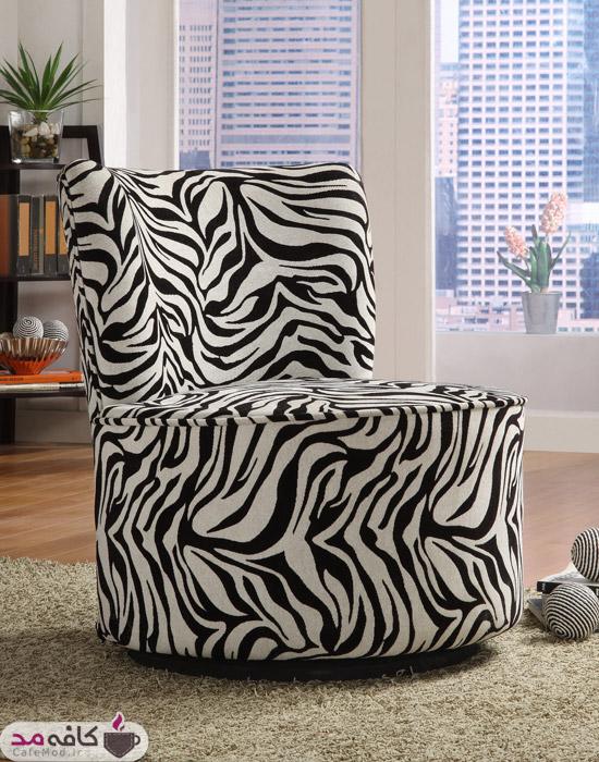 پترن zebra (گورخری) در دکوراسیون منزل