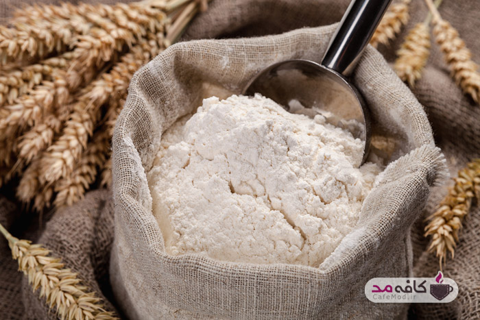 آرد به عنوان شامپوی خشک