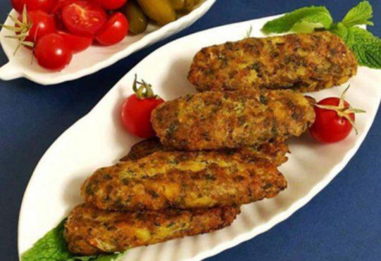 طرز تهیه کتلت گوشت و سبزیجات