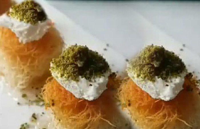 طرز تهیه کادایف فنجانی مناسب ماه رمضان