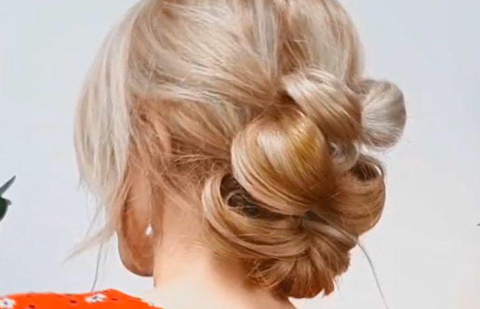 فیلم آموزش آرایش مو برای عروسی
