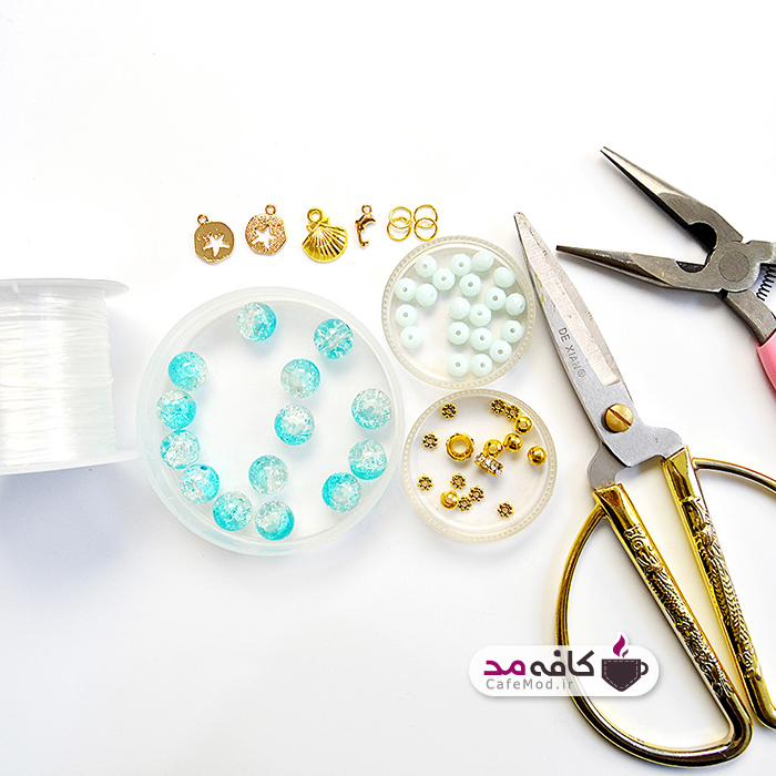 آموزش ساخت دستبند با سنگ های جید