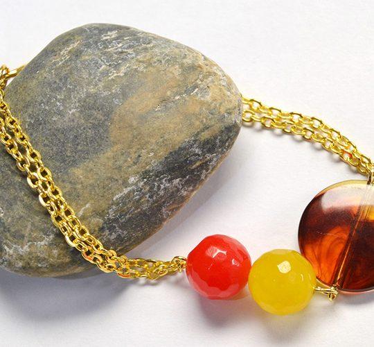 آموزش تصویری ساخت دستبند زنجیری زیبا