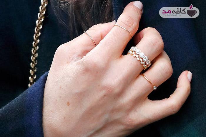 جواهرات محبوب مگان مارکل