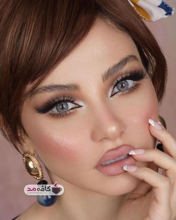 مدل آرایش برای عقد و عروسی