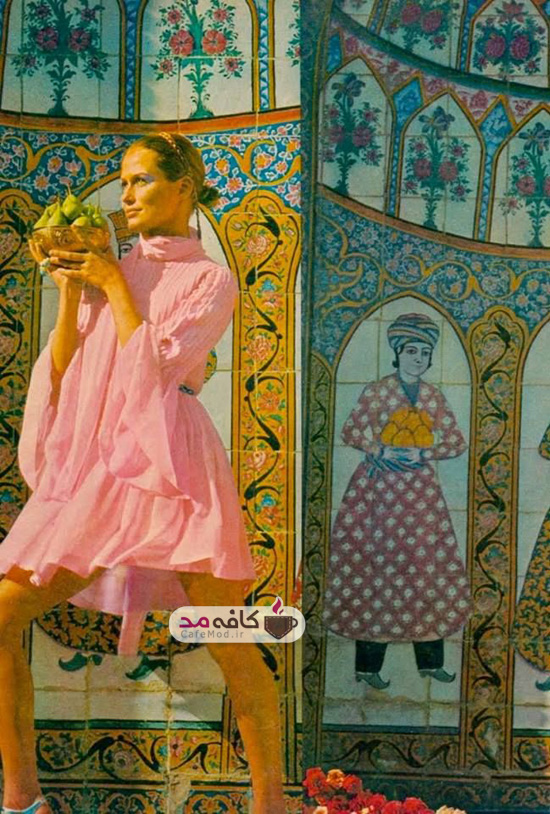 طرح های ایرانی در صنعت مد غرب