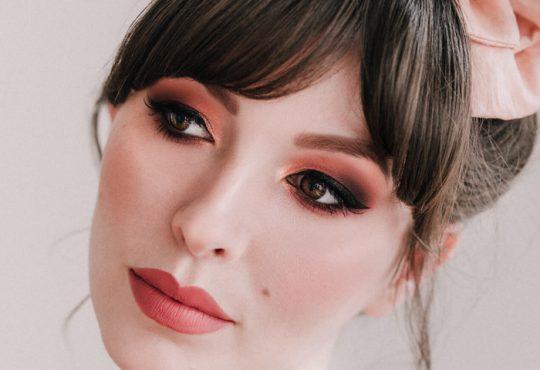 آموزش آرایش چشم با سایه مسی
