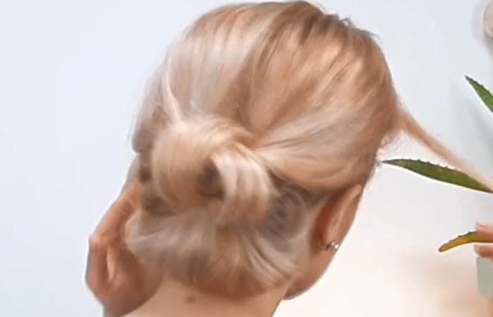 فیلم آموزش بافت موی متوسط دخترانه از پشت