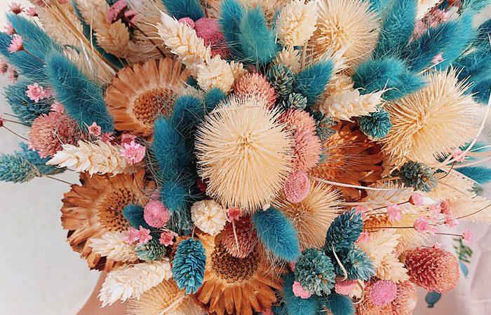 آموزش تصویری ساخت دسته گل زیبا