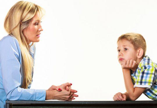 روش صحیح گفتگو با فرزندان