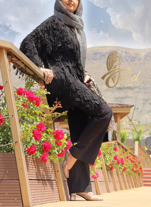 مدل مانتو مجلسی و اسپرت ایرانی